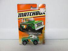 Matchbox 1972 Ford Bronco 4x4 No 90