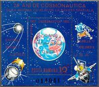 RUMÄNIEN 1983 VFU Block 25 Jahre Weltraumfahrt, Luftfahrt, Raumfahrt Apollo ESST