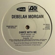 "Debelah Morgan ""Dance With Me"" 2000 Atlantic Records PROMO NM Hip Hop Single NM"