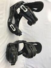 Flux Super  Emblem S SMALL Snowboard Bindings Black White