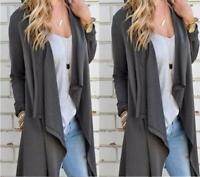 Women Fashion Warm Long Coat Jacket Trench Windbreaker Outwear Coats Overcoat