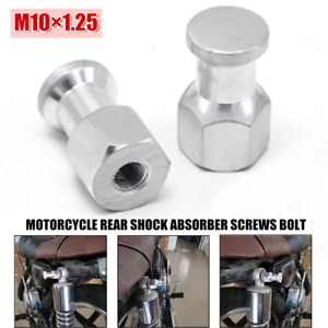 M10×1.25 Motorcycle Rear Shock Absorber Screws Bolt Anti-theft Decoration Cover