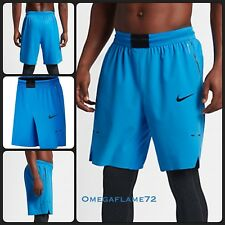 Entrenamiento gimnasio de baloncesto Nike aeroswift Pantalones Cortos Azul 831359-435 Talle Med