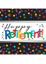 Happy Retirement Party Napkins Pk16