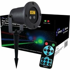 Dynamic Firefly Remote Control Christmas LED Projector Xmas Green Red Blue