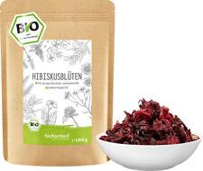 BIO Hibiskusblüten 1000 g | 100% natürlich - ohne Zusätze I Tee I bioKontor