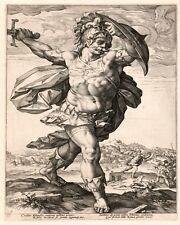 ROMAN PAINTING ROME ART REAL CANVAS PRINT