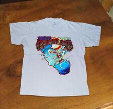 Vintage Grateful Dead T-Shirt Summer New Rare Tour 1986 Gildan Usa Sz