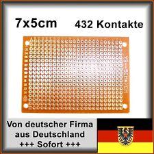 4 Stk. Lochraster Platine Leiterplatte PCB Experimentierplatine 7x5cm 432 Löcher