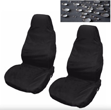 VOLKSWAGEN Golf Caddy Car Seat Cover Impermeabile Nylon Anteriore Coppia Protettore Nero