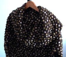 Miss Sixty - beautiful Italian stylish embellished brown felt wool sweater