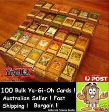 YuGiOh! Bulk 100 Holos & Rares ONLY !!!holo Premium Pack CHEAP GENUINE KONAMI