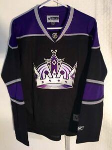 Reebok Women's Premier NHL Jersey Los Angeles Kings Team Black sz S