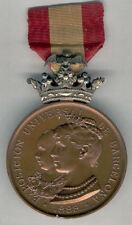 Medalla Exposicion Universal Barcelona 1888 Corona plata @ EXCELENTE @