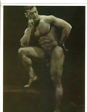 David Asnis Old Time Bodybuilder Gay Interest Muscle Photo B&W 1930s