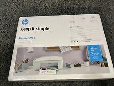 HP DeskJet 2752 Wireless All-in-One Color Inkjet Printer - Brand New