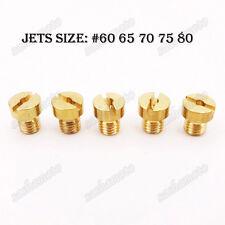 5mm #60 65 70 75 80 Carb Jets For SHA PHBG Tomos A35 Targa LX Sprint Dellorto