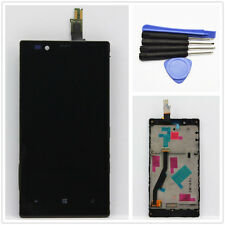 Front Full LCD Display Touch Screen Glass Digitizer+Frame For Nokia Lumia 720 +T