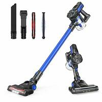 JASHEN Cordless Vacuum Cleaner 180W, Powerful Suction Vacuum Cleaner,2 In 1