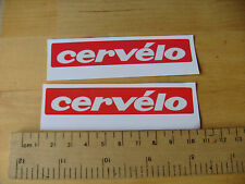 CERVELO  Bike / Mtb Decals Self Adhesive A Pair MATT (t4m) FREEPOST
