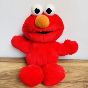 "Vintage 1995-1997 Tyco TICKLE ME ELMO Sesame Street Jim Henson 15"" Talking Plush"