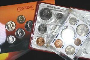 Australia Coin 1966, 1983, 1989 Mint Sets, Silver 50C .34 toz, 99c NO RESERVE