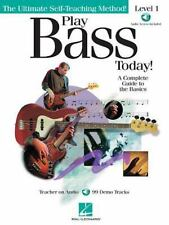 Play Bass Today! - Level 1 by Doug Downing and Chris Kringel (2001, Paperback /