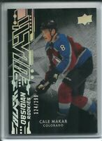 2019-20 Upper Deck Black Obsidian Rookies Cale Makar R-CMColorado Avalanche