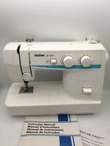 Brother LS-1217 Mechanical Sewing Machine with Original Box and Manual *WORKS*