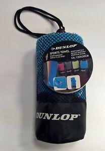 Mikrofaser Sport-Handtuch 120x30 cm Reise Camping Bike-Packing Outdoor Dunlop