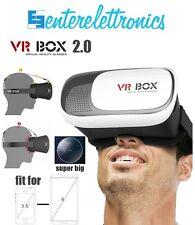 VR BOX OCCHIALI REALTA' AUMENTATA 3D PER IPHONE SAMSUNG GIOCHI VIDEO VISORE