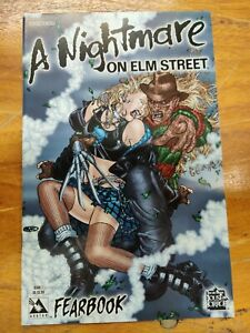 A NIGHTMARE ON ELM STREET FEARBOOK #1 VF/NM COVER A  AVATAR PRESS