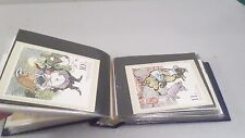 1970's 80's Book of Some 1st Issue & Assorted Collector Stamps Disney Boy Scouts