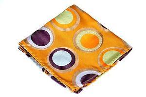 Lord R Colton Masterworks Pocket Square - Gold Supermassive Hole - Silk $75 New
