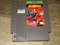 Kick Master Nintendo Nes Cleaned & Tested Authentic