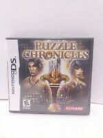 Puzzle Chronicles Nintendo DS BRAND NEW FACTORY SEALED FAST SHIPPING!