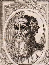Portrait XVIIIe Stefano Fiorentino Firenze Florence Peintre Pittore Italie