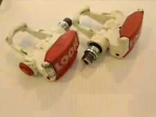 Look Vintage Red/White Bike Clipless Pedals