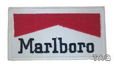 Marlboro Logo  iron/sew on embroidered patch formula 1 jacket racing badge 210