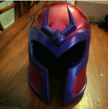 EVOLUTION Magneto Inspired Helmet With Crest Life Size Wearable Deluxe HTF