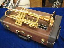 New CAROL BRASS LEGEND Balanced Model CTR-8060H-RLM (D) L Bb Trumpet!