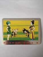 SUPER RARE CARTE DBZ 1989 BULMA BIDEL TRUNKS N°2 Dragon Ball Z série 2 card game