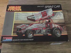 Monogram World of Outlaws Brad Doty Sprint Car Model Kit