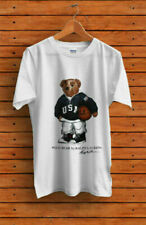 SALE-Vintage T-Shirt 90's POLO Bear Basketball Sport Gildan Reprint Size S-3XL