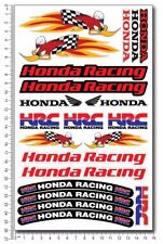 Honda Racing Woody woodpecker motorcycle decals 21 stickers HRC set Laminated