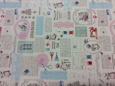 Lecien Little Heroines 31457 Sewing 100% Japanese Cotton