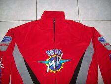 Nuevo MV Agusta CRC fan-chaqueta rojo negro gris todos los modelos Veste Jacket jas Jakka