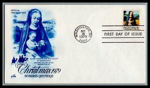 US FDC  # 1799  15c Madonna & Child  Art Craft  1979, 9c742