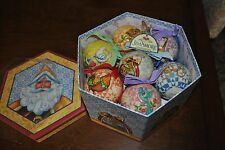 Jim Shore Heartwood Creek 12 DAYS CHRISTMAS Ornaments in Box 2006 NIB
