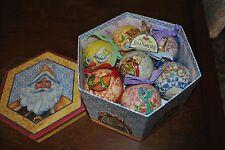 Jim Shore Heartwood Creek 12 DAYS CHRISTMAS Ornaments in Box 2006 NIB